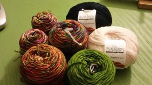 Fling yarn